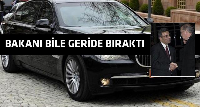 Müsteşarın makam aracı Ankara'yı salladı