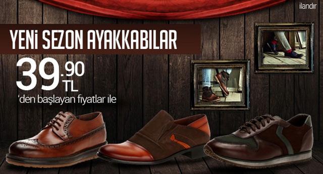 Yeni sezon ayakkabılar 39.90 TL - ADV