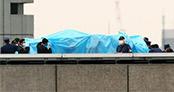 Başbakanlık binasının çatısında İHA bulundu