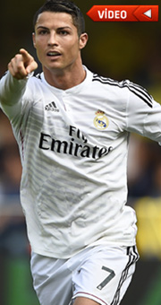 Ronaldo'dan minik hayranına jest