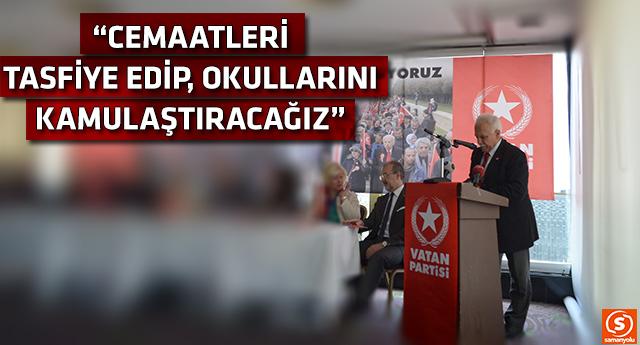 AKP'nin piyasaya sürdüğü Perinçek açık açık söyledi
