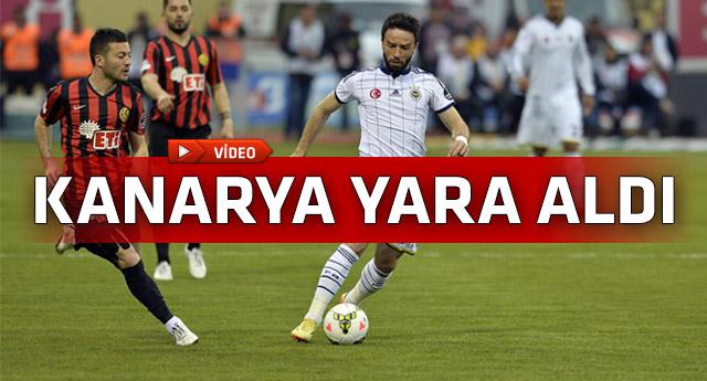 Lider Fenerbahçe Eskişehir'de kayıp