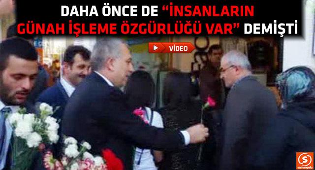 AKP'li Külünk karanfil almayan vatandaşı 'paralel' ilan etti