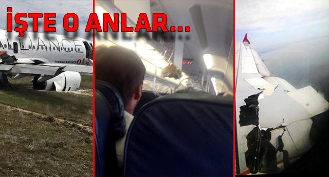 Uçakta yaşanan dehşeti böyle kaydetti