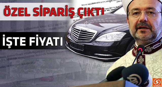 Diyanet'in yeni aracının maliyeti resmi belgelerle ortaya çıktı