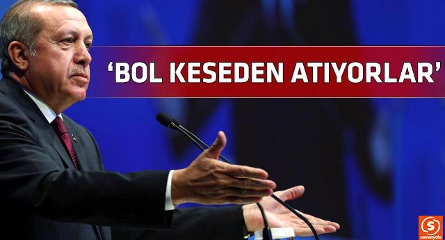 Erdoğan, tarafsızlığı yine unuttu muhalefet liderlerini eleştirdi