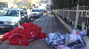 Gökçek yine Saadet Partisi'nin bayrak ve afişlerini toplattırdı!