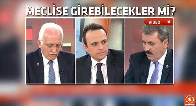 Mustafa Destici ellerindeki son anketi açıkladı