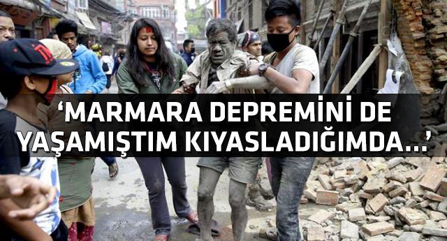 Nepal'den dönen vatandaşlar dehşeti anlattı