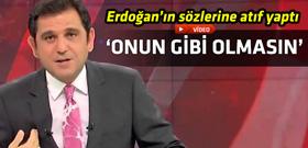 Fatih Portakal'dan Davutoğlu'na kayıt tepkisi