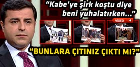 Demirtaş Başbakan'ı canlı yayında yalanladı!