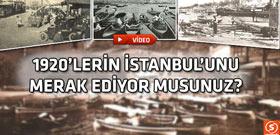 İstanbul'un ortaya çıkan en eski görüntülerinden biri