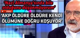 Ahmet Altan'dan AKP ile ilgili çarpıcı benzetme
