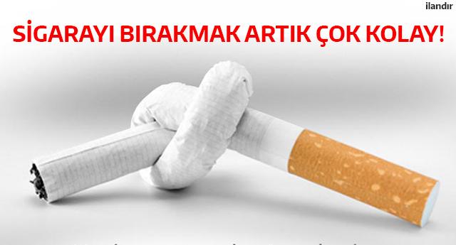 Sigarayı bırakmak artık çok kolay - ADV