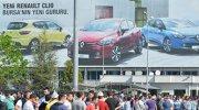 Renault'ta eylem devam ediyor