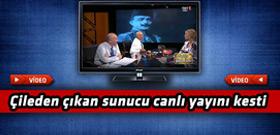 TRT'de bir anda gergin anlar yaşandı!