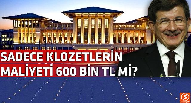 Tartışmalı Saray'ın klozet maliyeti Meclis'e taşındı
