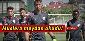 Galatasaray'lı oyunculardan ilginç gönderme