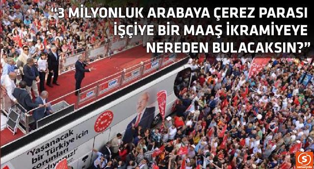 CHP lideri Kılıçdaroğlu'ndan Bakan Şimşek'in sözlerine cevap