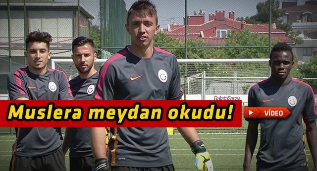 Galatasaray'lı oyunculardan ilginç gönderne