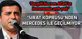Selahattin Demirtaş'tan makam aracı tepkisi