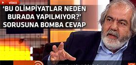 Mehmet Altan'dan Türkçe Olimpiyatları'na övgü