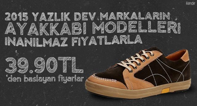 Dev markaların ayakkabı modellerinde şok fiyatlar! - ADV