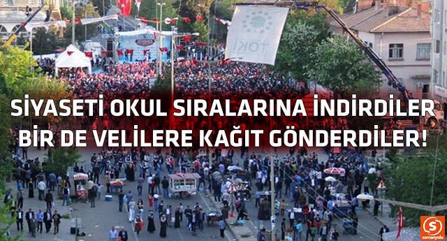 Erdoğan'ın mitinglerine seyirci toplama çalışmaları son sürat...