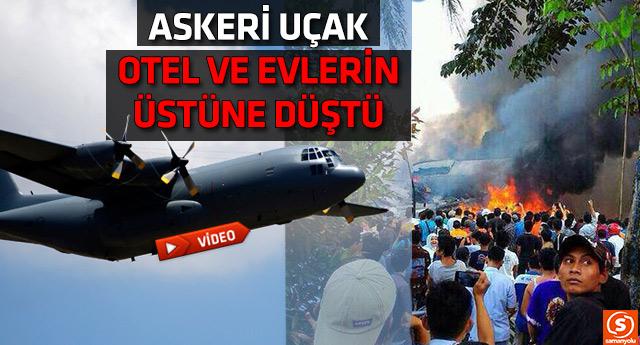 Endonezya'daki uçak kazasında en az 30 ölü var