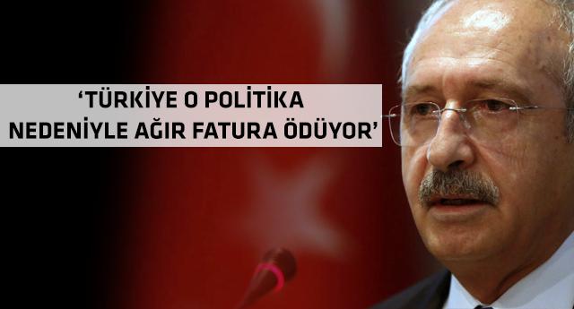 CHP lideri açık açık uyardı: Sakın ha!