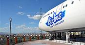 Uçak restoran görenleri şaşırttı!