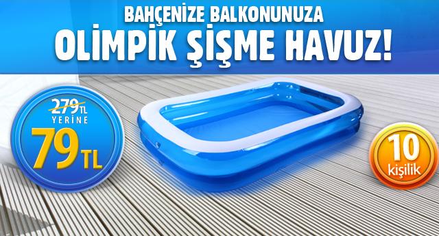 Bahçe ve balkona şişme havuz - ADV