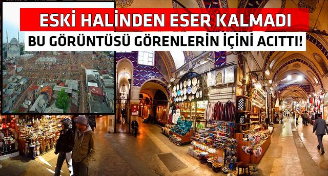 Milyonlarca turistin uğrak yeri Kapalı Çarşı'yı hiç böyle görmediniz!