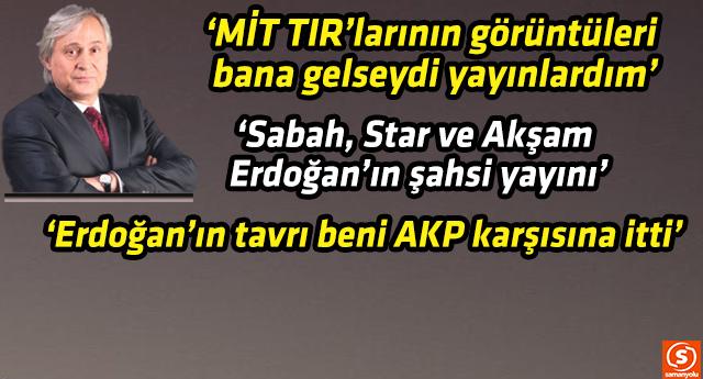 Bayramoğlu'nun bu sözleri AKP'lileri ve Erdoğan'ı kızdıracak