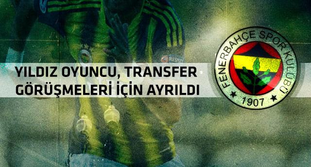 Fenerbahçe'de şok! Kamptan ayrıldı