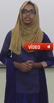 Bangladeşli öğrenci duygu dolu Türkçe şiir yazdı