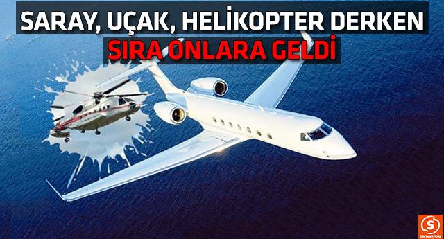 Saray gözü kararttı; başbakanlığın jet ve helikopterini de istiyor