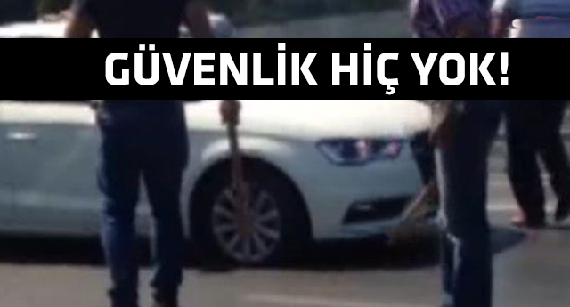 İstanbul'un göbeğinde kan donduran görüntü