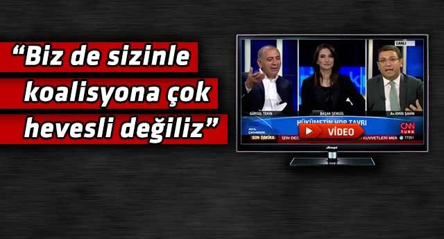 CHP'li Tekin ile AKP'li vekil canlı yayında birbirine girdi