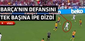 Eden Hazard'tan unutulmayacak efsane gol!