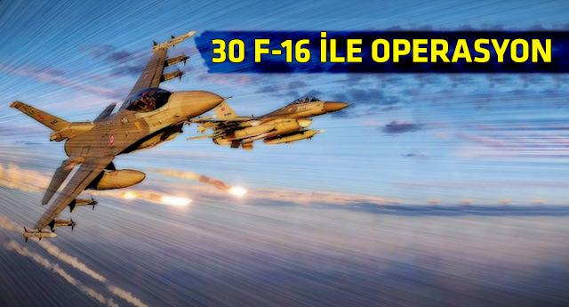Türk jetleri Irak'ta PKK kamplarına bomba yağdırdı