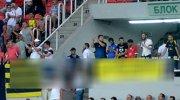 Trabzonspor maçında gerginlik