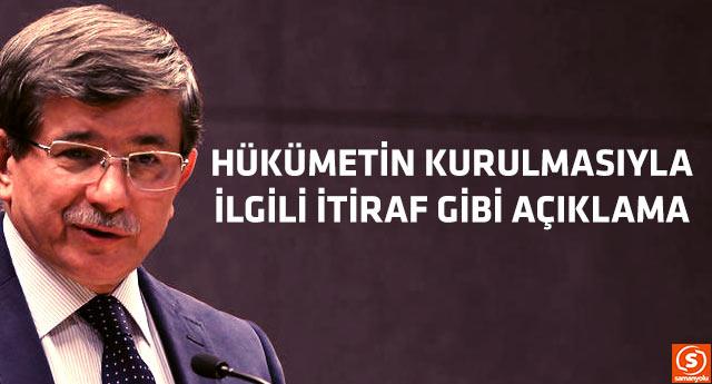 Başbakan Davutoğlu'ndan ilginç açıklama