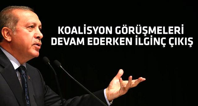 Erdoğan seçimle ilgili isteğini açık açık söyledi