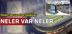 Vodafone Arena'da Beşiktaş taraftarına büyük sürpriz!