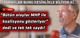 Ünlü anketçiden ilginç AKP-CHP koalisyon açıklaması