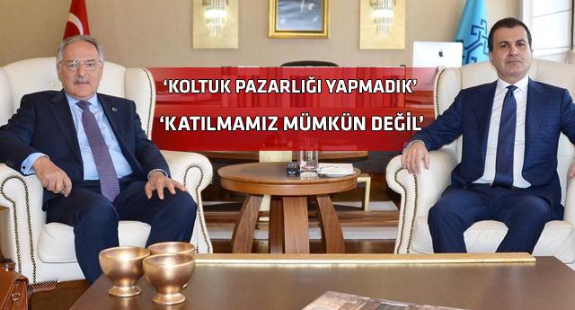 AKP-CHP görüşmesi sonrası önemli açıklamalar