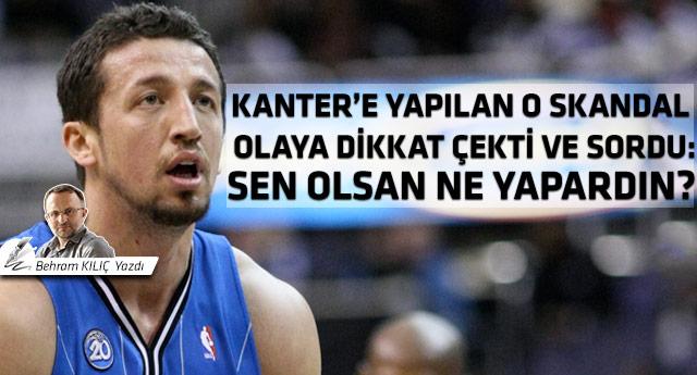Hidayet Türkoğlu'na açık mektup!