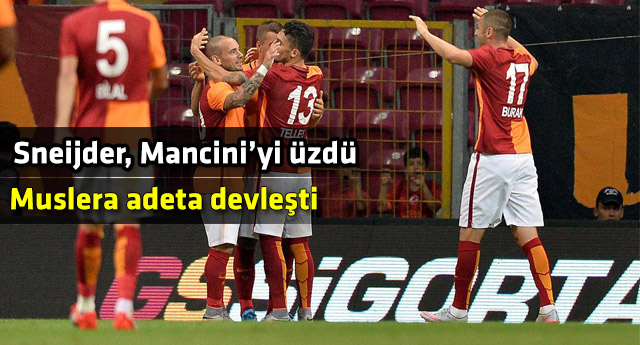 Galatasaray Arena'da Inter'i devirdi
