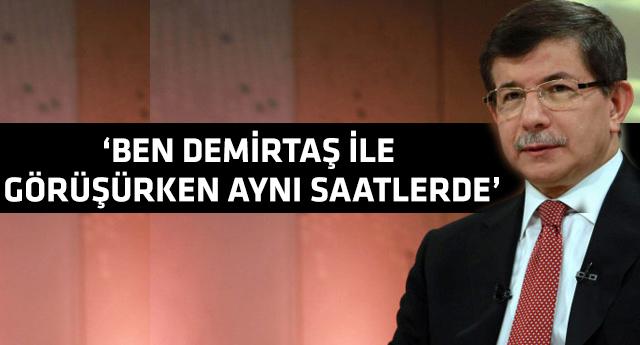 Ahmet Davutoğlu'ndan 'talimat' çıkışı!